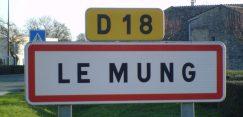 Pancarte Le Mung