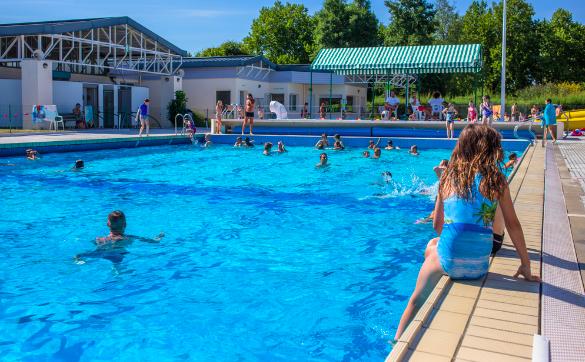 La piscine de la Grenouillette