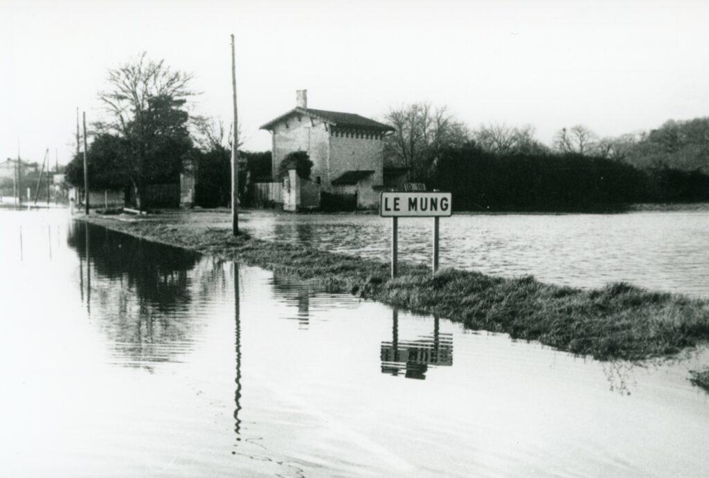 Les inondations au Mung